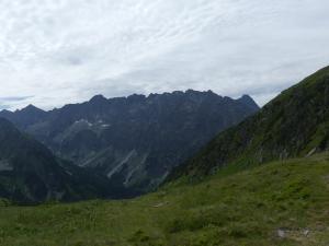 Panorama (Tatry Wysoki z przełęczy Zavory)