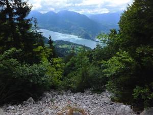 Widok z Parku Narodowego Roc de Chere