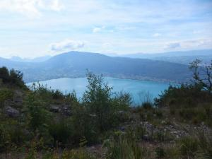 Widok ze szczytu Mont Baron