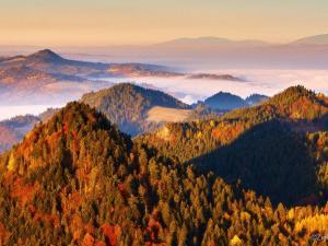 Mgliste Pieniny jesienią. Szlak na Trzy Korony był jednym z naszych ulubionych.
