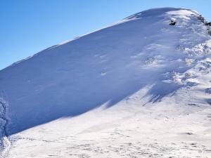 W stronę zimowej Tarnicy.