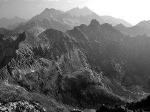 Vysoké Tatry, złowrogo z Gerlachu