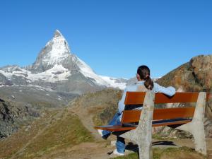Ten widok na Matterhorn zawsze będzie w mojej pamięci