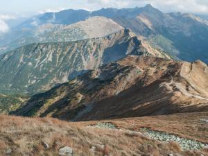 Widok na szczyty