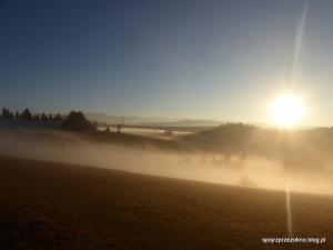 Grandeus na Spiszu - morze mgieł