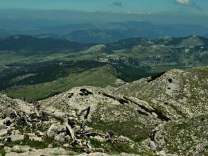 4/ widok z Dinary (Chorwacja)