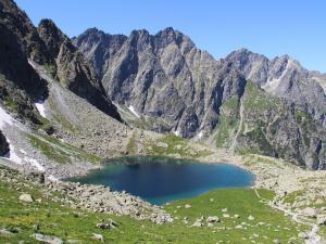 Scena 6: Tatry, Dolina Białej Wody, Litworowy Staw Białowodzki (lipiec)