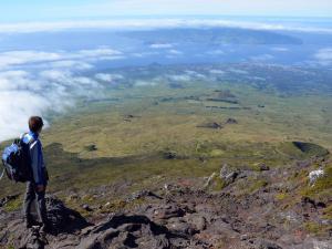 6/ widok z Pico (wyspa Pico - Azory - Portugalia)
