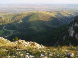2/ okolice Wąwozu Turda w Rumunii