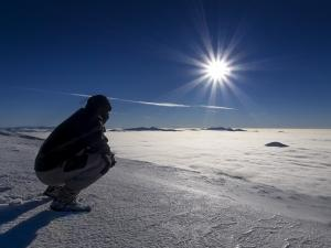 Najwyższy szczyt Beskidów - ukraińska Howerla.