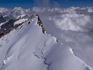 Nordend - czwarty co do wysokości szczyt Alp.
