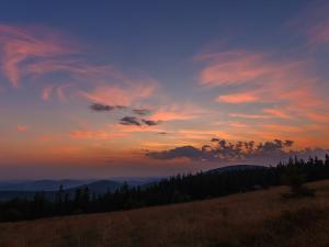 Wschód słońca z Jałowca