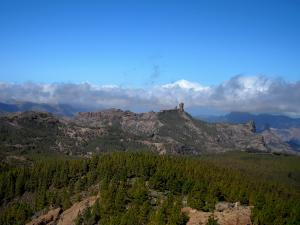 widok z Pico de Las Nieves, Gran Canaria