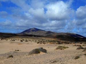 nieznana góra na Lanzarote