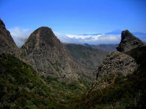 Los Roques, w tle Teide, Gomera