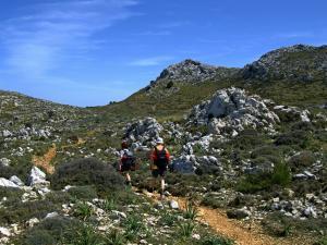 w drodze na Puig des Teix