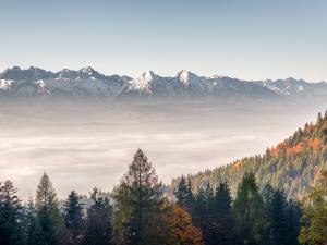 Panorama z Przełęczy Szpoczańskiej II