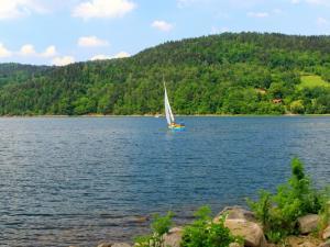Przystanek przed Beskidem Śląskim - cudowne Jezioro Żywieckie