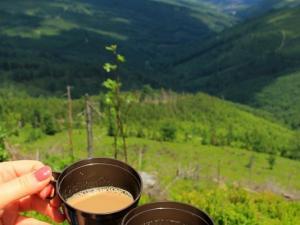 Kawa w górach smakuje inaczej