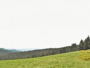 Podobno najpiękniejsza gorczańska polana