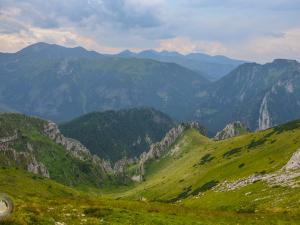 Krajobraz Tatr Zachodnich.
