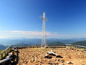Najwyższy szczyt Bieszczadów - Tarnica