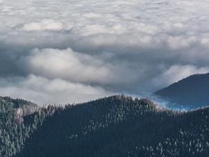 Góry i morze… chmur