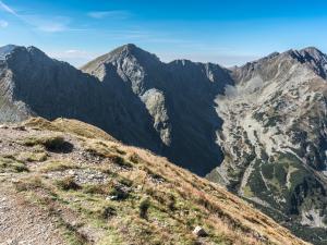 Widok z Wołowca na Tatry Słowackie