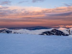 Cień wielkiej góry.