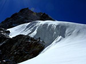 Lodowiec na przełęczy Cho La.Cudowny gigant