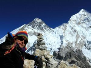 Mt.Everest i Nuptse