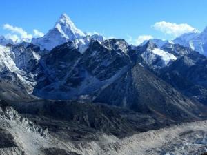 Panorama Himalajów z góry Kala Patthar