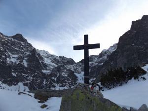 Krzyż pod Czarnym Stawem