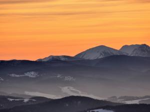 widok z przełęczy Bron