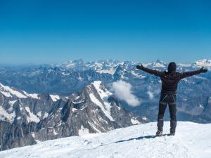 Szczyt Mont Blanc
