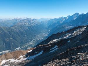 Chamonix z góry