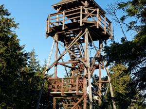 Wieża widokowa na Czarnej Górze