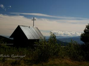 Kapliczka w Gorcach