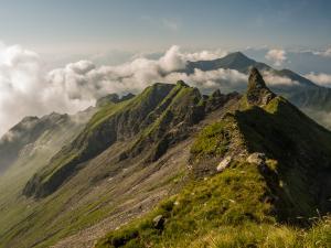 Na Grauspitz nie wiedzie żaden szlak, drogi są słabo opisane, a relacji z wejścia mikroskopijnie mało.
