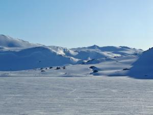 W stronę lodowca niczym AT-AT w ataku na bazę rebeliantów.