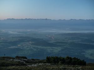 Świt nad Tatrami