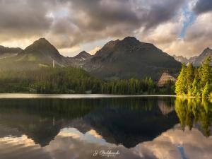 Panorama Szczyrbskie Jezioro