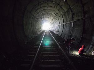 Tunel Łupków inaugurował sam Franciszek I