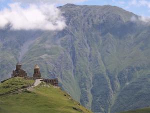 Cerkiew Cminda Sameba w Gergeti, 2170 m n.p.m.