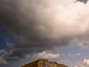 W drodze na Przełęcz Liliowe.