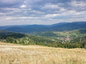 Widok z Polany Buczynki