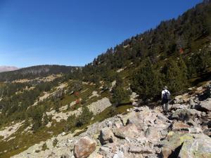 Dolina Madriu-Perafita-Claror - nie wszędzie tak saplona słońcem
