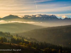 MyNaSzlaku - Przełęcz nad Łapszanką