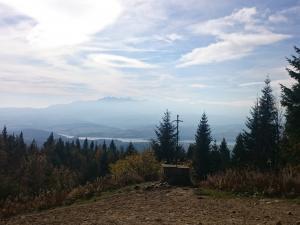 Widok ze szczytu Lubania