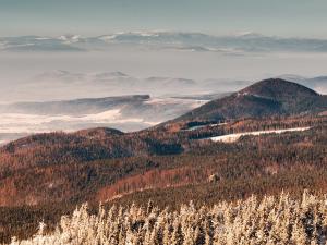 Widok z okolic Trójmorskiego Wierchu